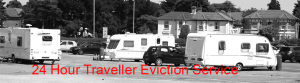 24 Hour Traveller Gypsy eviction